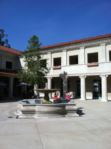 The student center at Pomona.