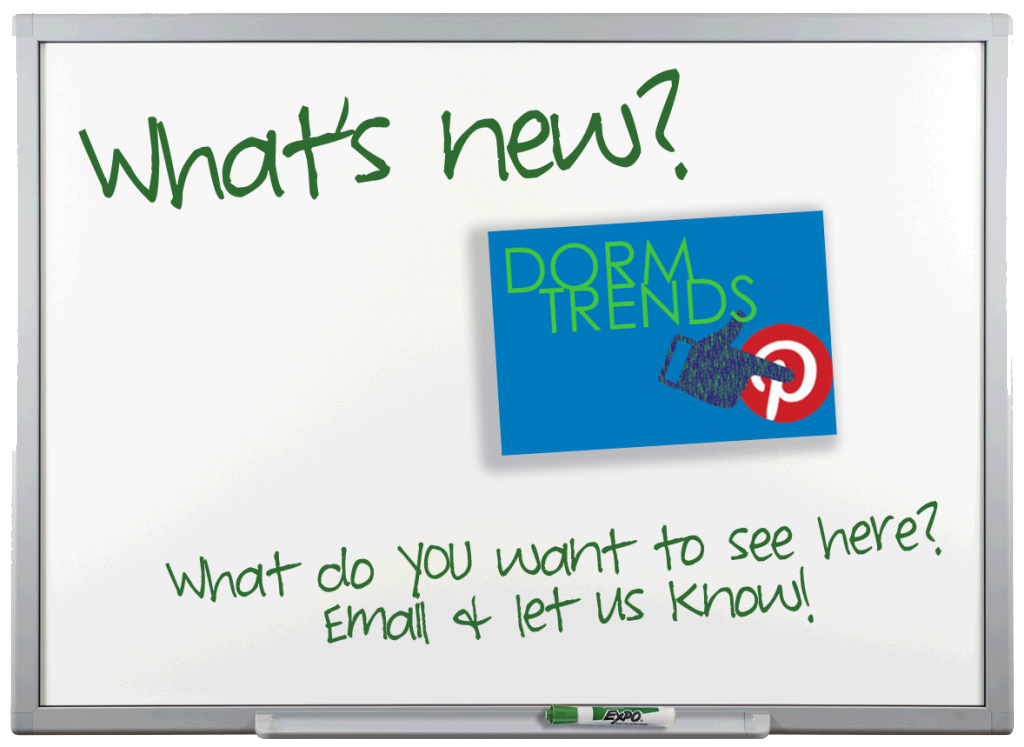 Whats New White Board - Pinterest